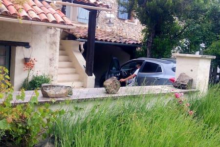 Ancienne bergerie aménagée 1h Nice - - Val-de-Chalvagne - Huis