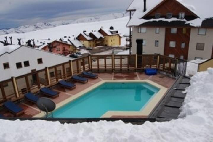 La Parva, Centro de Esqui condominio La Parva