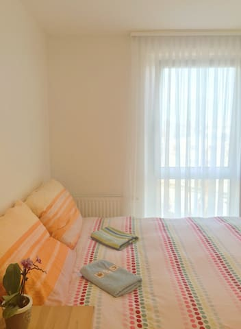 Comfortable bright room near center and subwa - 維也納 - 公寓