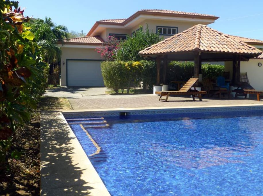 Pool and front of house