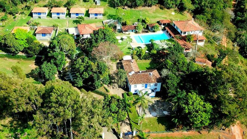 Pousada Fazenda São João - suíte Ipê Roxo