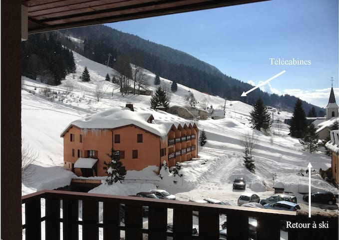 Jura, Duplex,2ch,station ski, pied des pistes