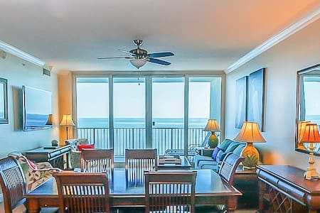 On the Beach Furnished 3BR/3BA Condo with Balcony - Gulf Shores