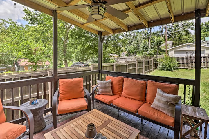 NEW! Country-Chic Home with Outdoor Living Space!