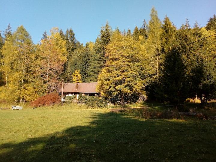 Perschlhütte in sonniger Ruhelage