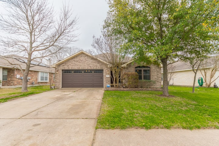 ❤️Round Rock❤️5 Beds|Pets Welcome|Pool Access