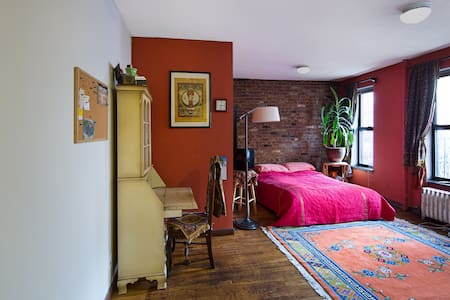Stay in my yoga studio on the UES`