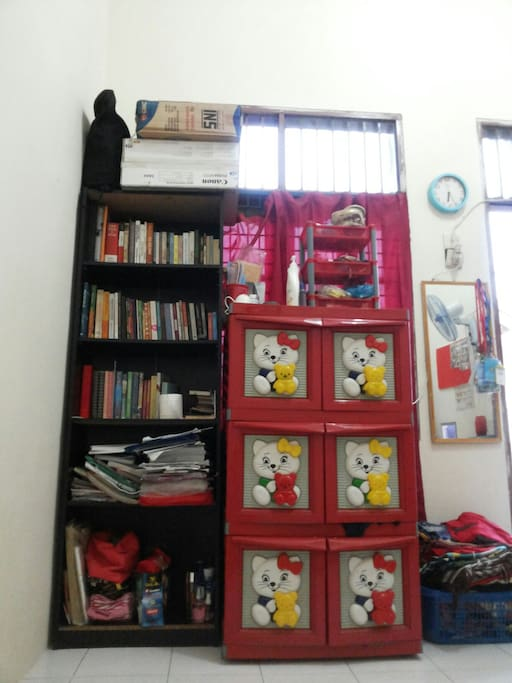Books and clothes