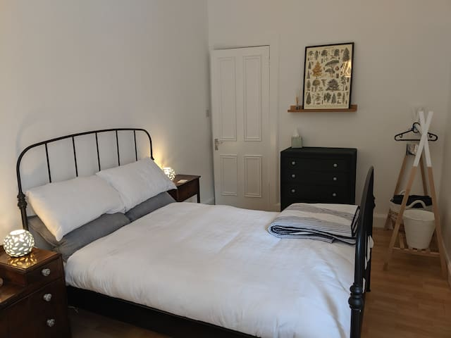 Central Edinburgh double room in Georgian Flat