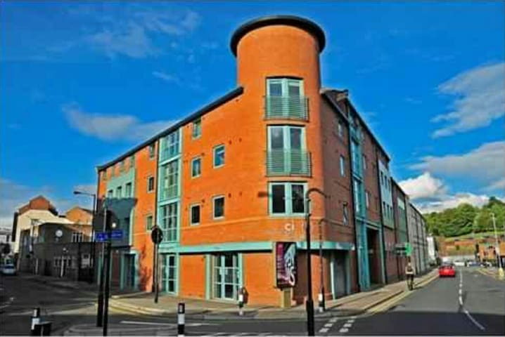 Spacious 2 beds in city centre - Sheffield - Wohnung