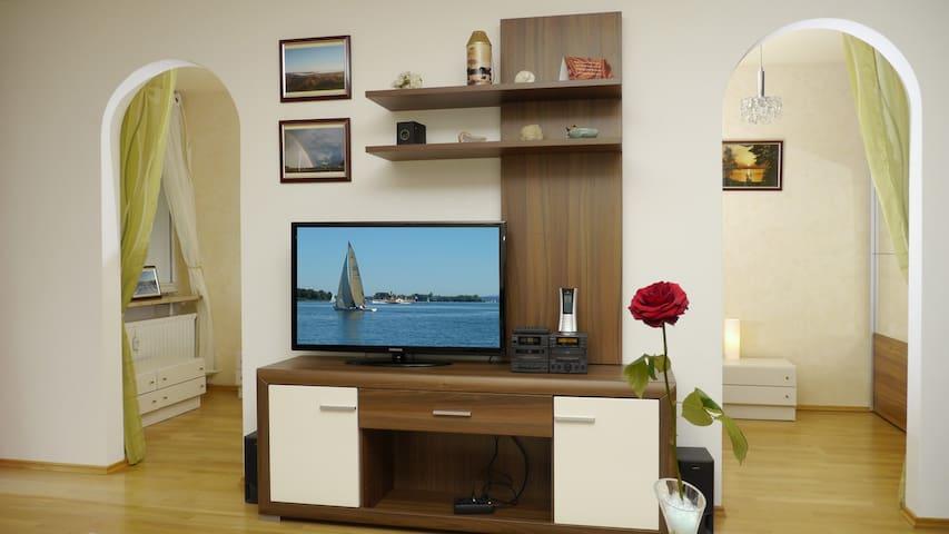 Ruhige Ferienwohnung in unmittelbarer Seenähe - Prien am Chiemsee - Apartment