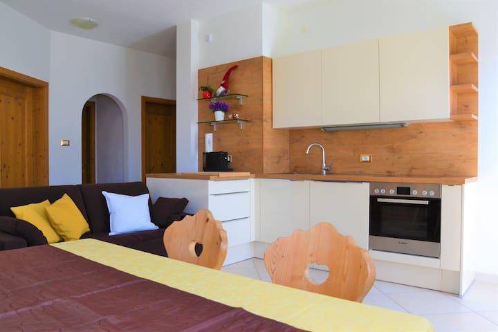 Wohnung im Naturpark für 4 Personen - Truden - Apartamento