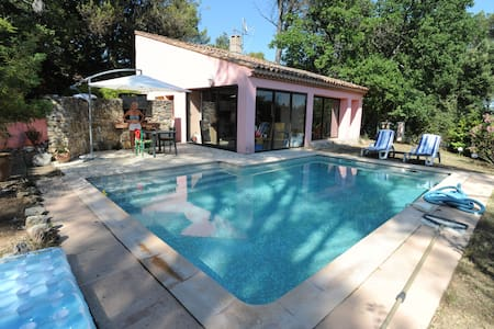 charming house with swimming pool in golf - Brignoles - Villa