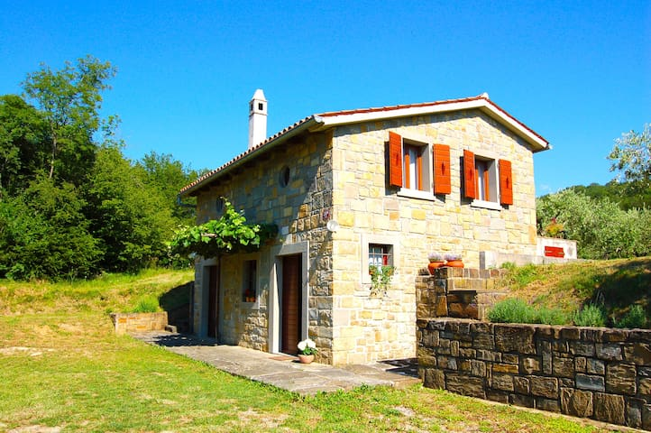 CHARMING HOUSE in Slovenian Istria near Koper