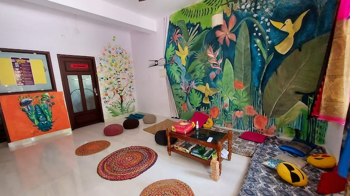 Verve Stays 2BHK Cottage : Peaceful Ambience