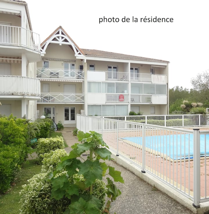 Agréable T2, 4 pers, proche plage Royan-Pontaillac