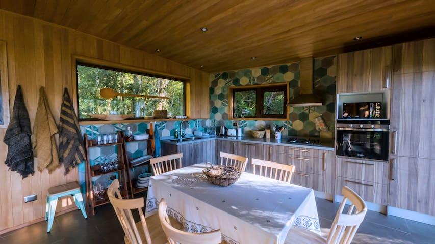 4. Espectacular Casa en el lago Huillinco, Chiloe
