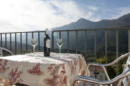 The most charming terrace in Ronda's  mountains