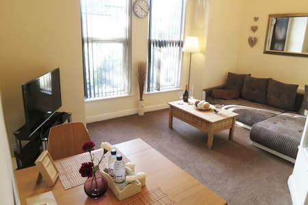 Modern & Stylish 1 bed flat in West Didsbury. - Manchester