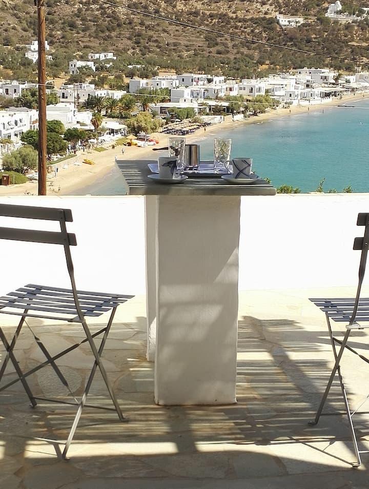 Studio indépendant face mer, Platys Gialos, Sifnos