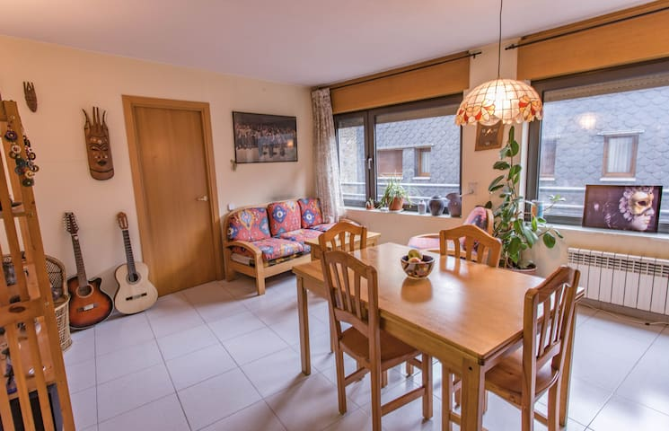 Welcoming & Cultured flat - Andorra la Vella - Apartemen
