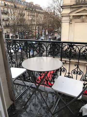 Studio avec balcon Gare de l est