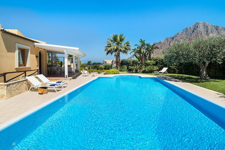 Stunning pool Villa near San Vito lo Capo Sicily