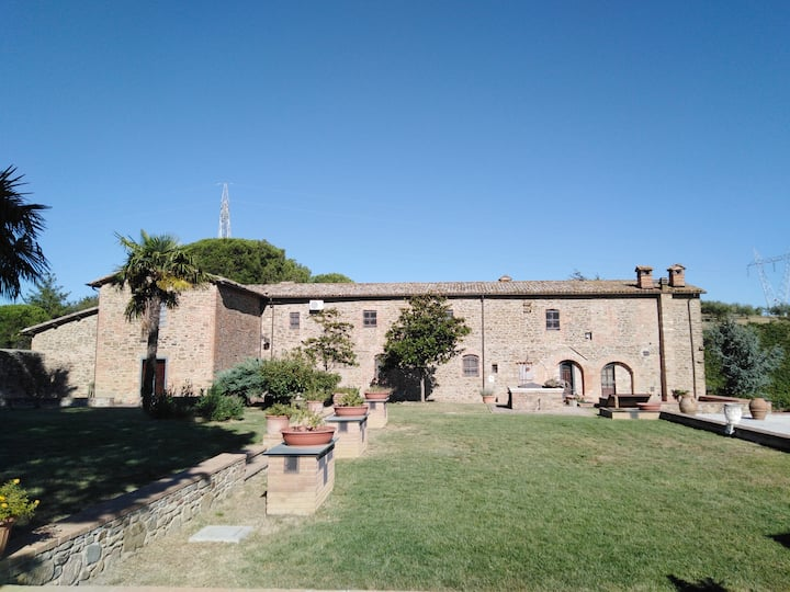 """""""La Querciolana"""" appartment #5 in wine farm"""