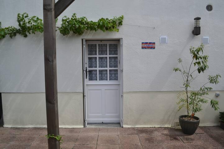 Chambre avec salle d'eau, WC et entrée privée
