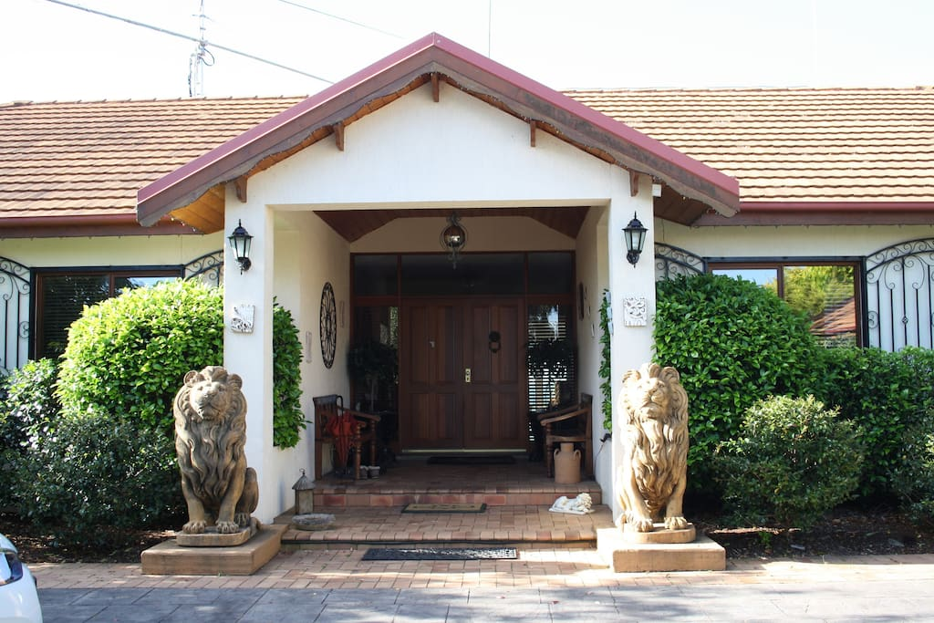 Entrance to our home
