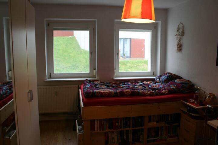 Zentrale und gemütliche Zwei-Zimmer-Wohnung - Rostock