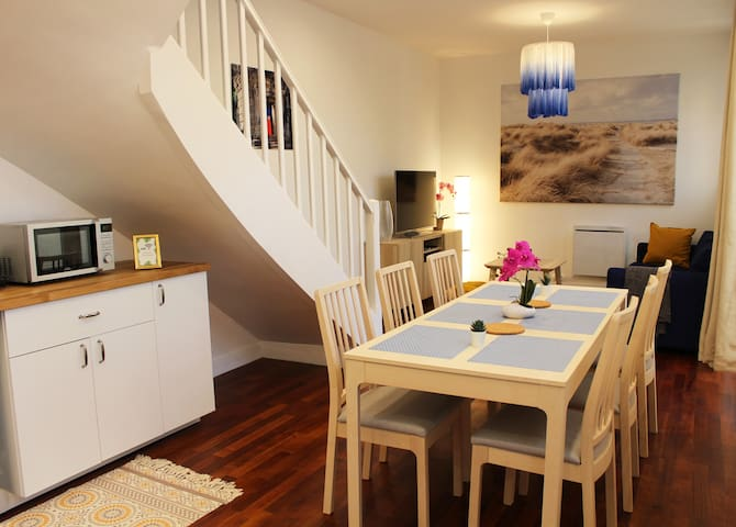 🥂NEW Cottage in Reims HyperCenter/5min to Train🥂