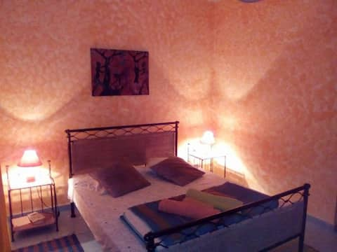 CRUZ GRANDE Djabraba's Eco-lodge room double