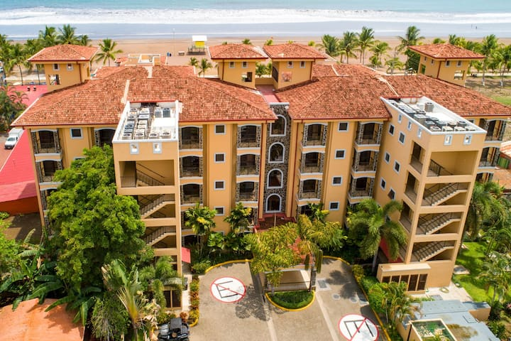 Oceanfront condo with shared pool, upscale atmosphere, and great location!