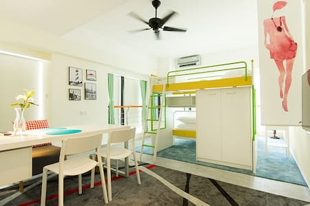 燕子云居智能动居民宿(曼哈顿升龙大厦)2501 - Zhengzhou - Apartemen