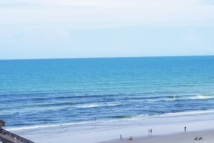 **Oceanview 2 bd/2 bath condo right on the sand!**