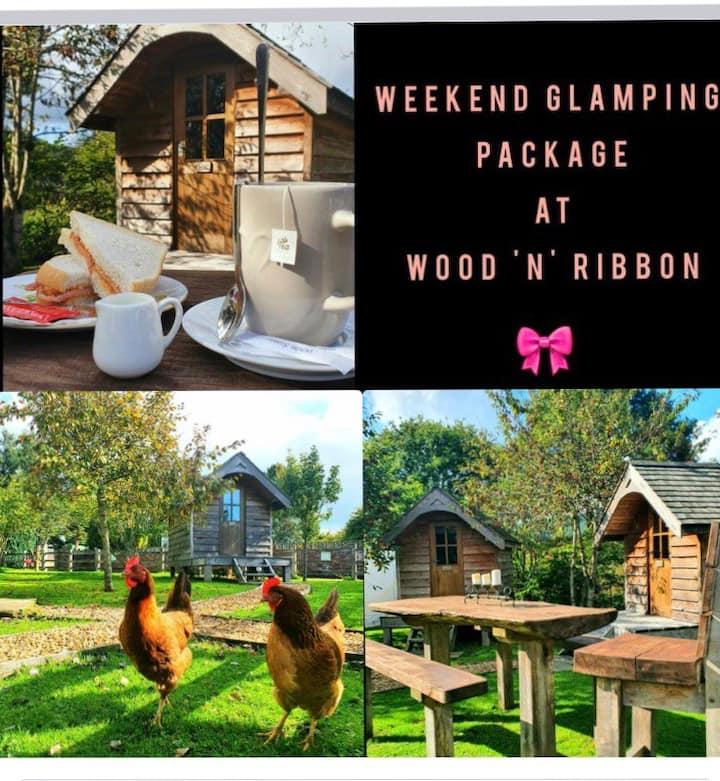 Wood'N'Ribbon glamping weekend experiences 2people