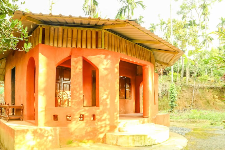 Eco-friendly Mud cottage