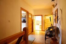 Eingangsbereich in die Wohnung Vera