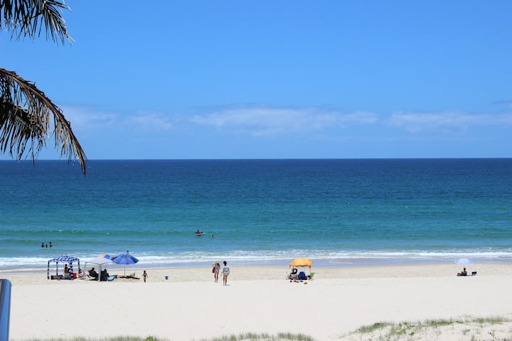 Absolute beachfront bliss on the Gold Coast