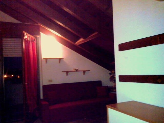 Mansarda con terrazza solarium wifi - Novara - Appartamento