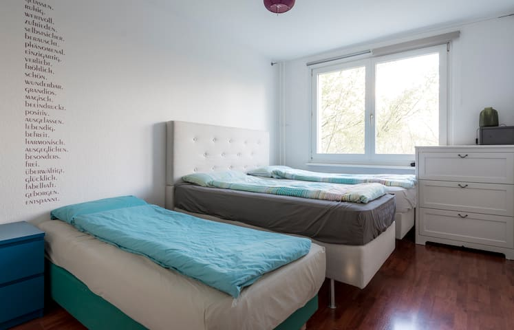 1 bed in a comfortable shared room + free beer! - Berlin - Appartement