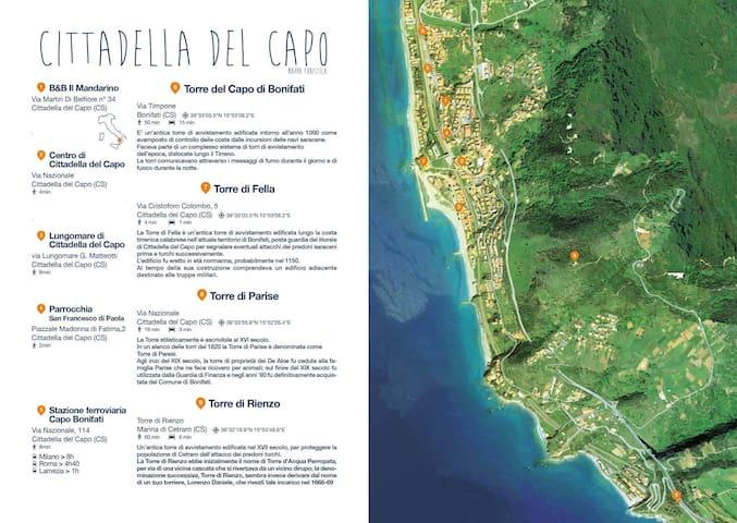 B&B Cittadella del Capo Calabria - Cittadella del Capo - House