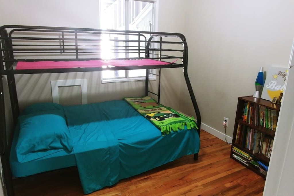 Bedroom 2 *twin bunk not available at this time* Bottom features a brand new double mattress.