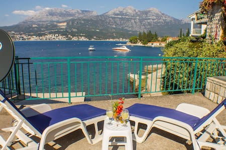 Lovely apartment on coastline, Rose, Montenegro