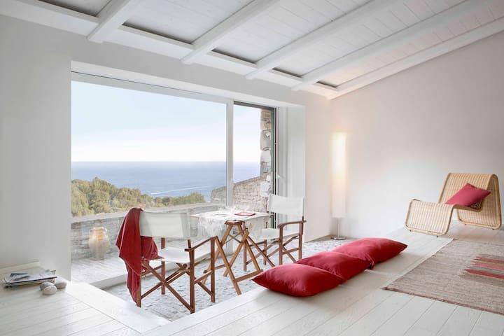 Villa Pinamare, splendida vista su mare e pineta - Andora - 別荘
