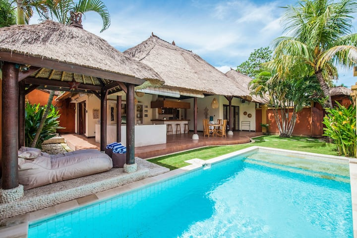 Beautiful 2BR & Private Pool Villa in Seminyak