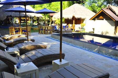 H20 Yoga Resort - Spacious Shared Bungalow #6 - Gili Air