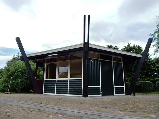 """Luxe Trekkershut """"Haverhoek"""" te Hoedekenskerke - Hoedekenskerke - Cabin"""
