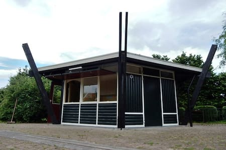 """Luxe Trekkershut """"Haverhoek"""" te Hoedekenskerke"""